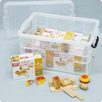 トントンクッキング[パン]ケース入 知育玩具 ままごと クッキング おもちゃ 幼児 学習教材