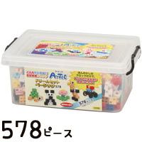 アーテックブロック ドリームセットベーシック 578PCS アーテック ブロック Artecブロック 日本製 ブロック 日本製 パズル ゲーム 玩具 おもちゃ レゴ・レゴブロックのように自由に遊べます