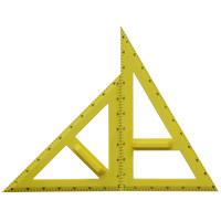大型三角定規セット樹脂製A型 三角定規 学校 算数 数学 先生