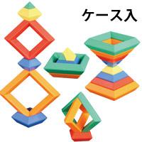 ブロック そうぞうブロックK[100ピース]ケース入 知育玩具