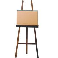 AT木製イーゼル B[150cm]ボンド付 イーゼル 画材 絵 ディスプレイ 美術