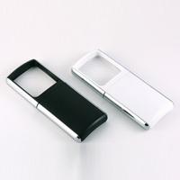 虫眼鏡 ルーペ LEDライト付ルーペ 2.8倍 ポケットライトルーペ