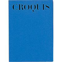 M クロッキーブック A4 S231-02 青