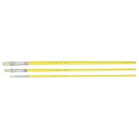 油筆 B 平 3本組 絵筆 絵具 筆 絵 画材 図工 美術 学校教材 スケッチ