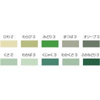 ミューズ[Mu] コットン厚 八切 グリーンセット[10色28枚]