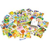 かるた カルタ なかよしいろはかるた[布製ケース付] 知育玩具 カード ゲーム