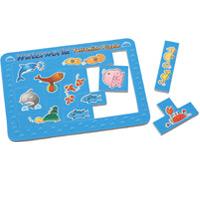 すいぞくかんくみかえパズル 知育玩具 幼児 パズル 保育園 幼稚園 おもちゃ 子供