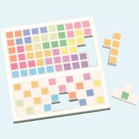 ひらめき!キューブパズル パズル 知育玩具 おもちゃ 子供 幼児 組み合わせパズル