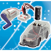 蓄電ミニカー実験セット アーテック 実験 ミニカー 発電 理科 科学 観察 小学生 学習 学校
