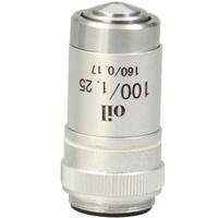 対物レンズ100倍[DIN] アーテック 顕微鏡 対物レンズ 観察 拡大 理科 科学 小学校 学習 学校 夏休み 自由研究