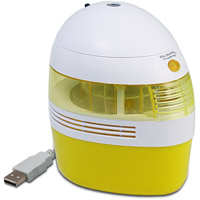 イルミネーション&加湿器[黄] アーテック 加湿器 加湿 イルミネーション 家電
