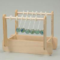 カチカチ衝突球キット アーテック ふりこキット ニュートン 学習 観察 実験 理科 夏休み 宿題 自由研究