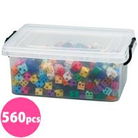 アーテックブロック メッセージDXセット 560pcs アーテック 日本製 POP ボード メッセージ 展示 作品 幼児 おもちゃ レゴ・レゴブロックのように自由に遊べます