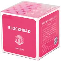 新感覚 空中戦 立体4並べ BLOCKHEAD ブロックヘッド ローズピンク アーテック 日本製 オシャレ ブロック ゲーム パズル 組み立て ビンゴ 脳トレ レゴ・レゴブロックのように遊べます