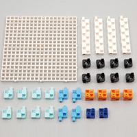アーテックブロック リンク学習セット アーテック 日本製 知育玩具 ブロック パズル おもちゃ キッズ 組み立て 学習 リンク学習 リンク機構 レゴ・レゴブロックのように遊べます