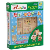 NHKパッコロリン だっしゅつゲーム 078395 アーテック 知育玩具 NHK パズル 木製 ゲーム おかあさんといっしょ パッコロリン 学習 幼児 プレイブック