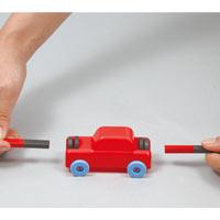 マグネットカー実験セット 058521 アーテック マグネット おもちゃ 工作 カー 車 実験 磁石