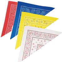 三角 バンダナ 三角巾 頭巾 エプロン