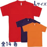 ライト ドライ Tシャツ Lサイズ 無地 メンズ 半袖