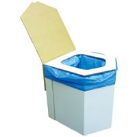ラビンエコ洋式簡易トイレ 防犯 防災グッズ 非常用 組み立て式 ダンボールトイレ
