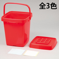 おかたづけボックス お片づけ ボックス おもちゃ箱 収納 バケツ ラック ゴミ箱 ダストボックス 玩具入れ 蓋付き