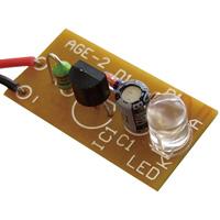 1.5V白色LED点灯キット 086867 アーテック 学校教材 基板 図工 技術 電子工作