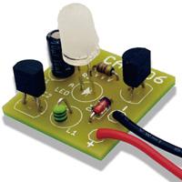 LEDキャンドルICキット ロウソク色 086868 アーテック 学校教材 図工 技術 基板 電子工作