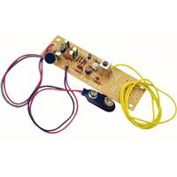 FMワイヤレスマイクキット 086870 アーテック 学校教材 図工 技術 基板 電子工作
