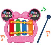 プチてっきん ランダムカラー ゲーム おもちゃ こども 子供 遊び 玩具 楽器 鉄琴 音楽