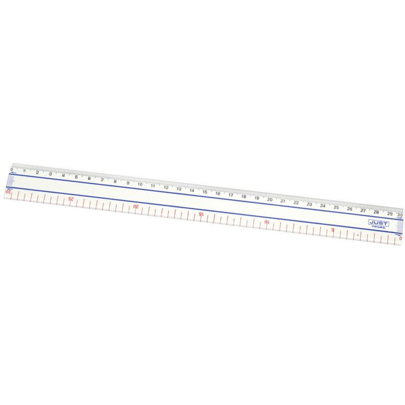 ジャスト定規 30cm/ゼロスタート アーテック 定規 さし サシ 文具 事務用品