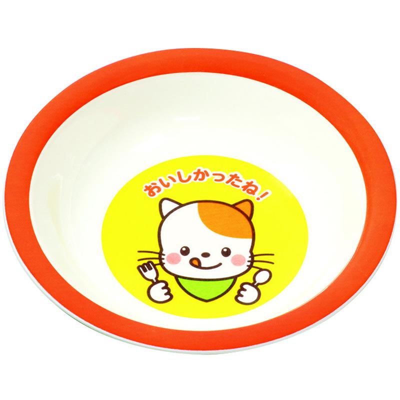おいしかったね デザート皿 アーテック メラニン 軽い キッズ 子供 食器