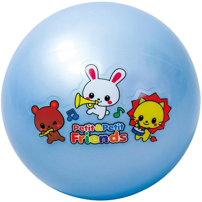 アニマルフレンド ボール6号 ブルー アーテック ボール ベビー向け おもちゃ キッズ 子供 幼児