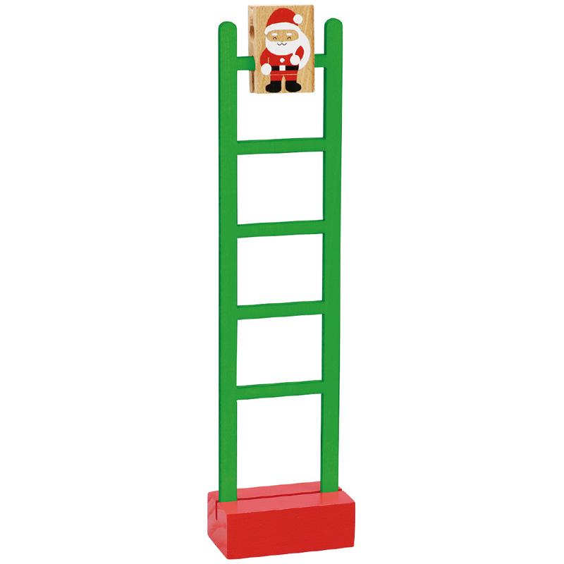 サンタのはしごくだり アーテック キッズ 子供 幼児 クリスマス 雑貨 木製 おもちゃ 知育玩具