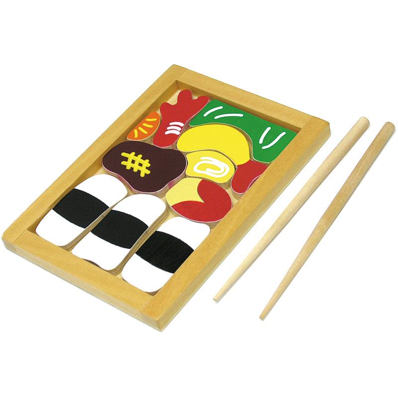木製お弁当パズル PP袋タイプ ベビー キッズ 子供 知育玩具 パズル おもちゃ