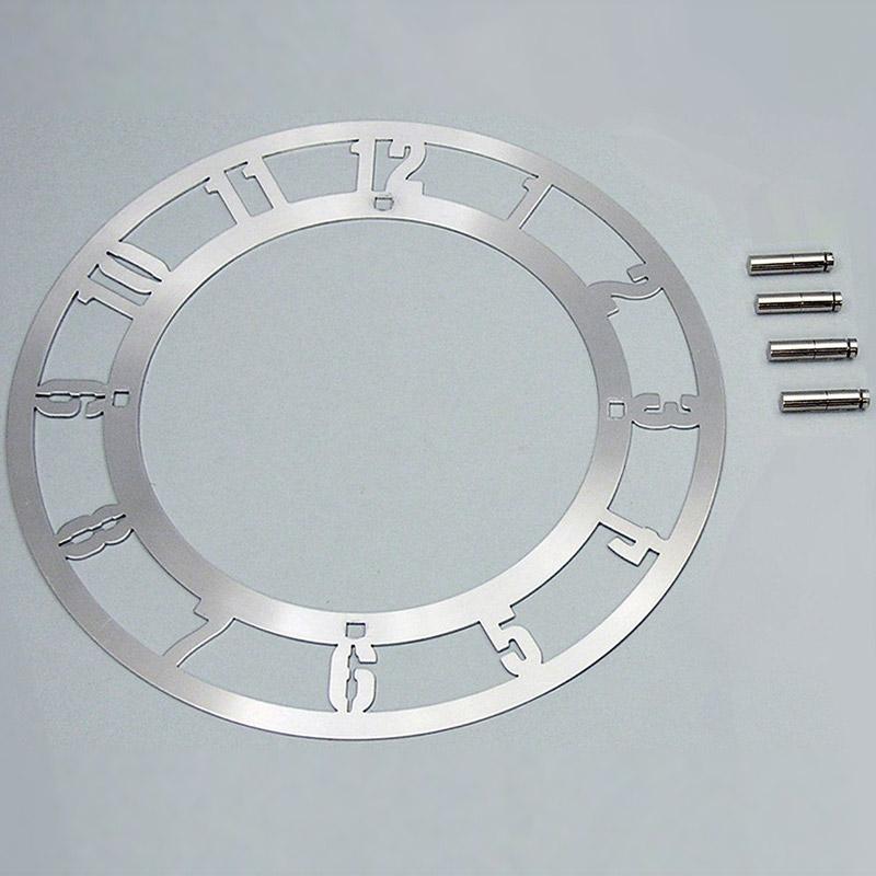 メタリック時計枠 本体キット 図工 工作 美術 画材 学校 教材 手作り 時計枠