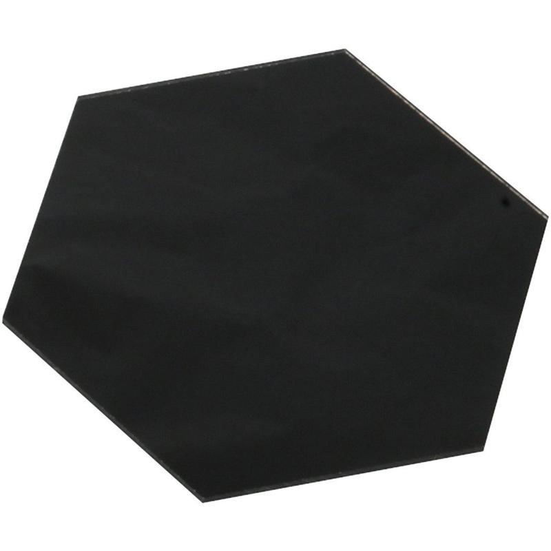 直接描けるニュー アートガラス 六角形 図工 美術 絵 画材 学校 教材 夏休み 宿題