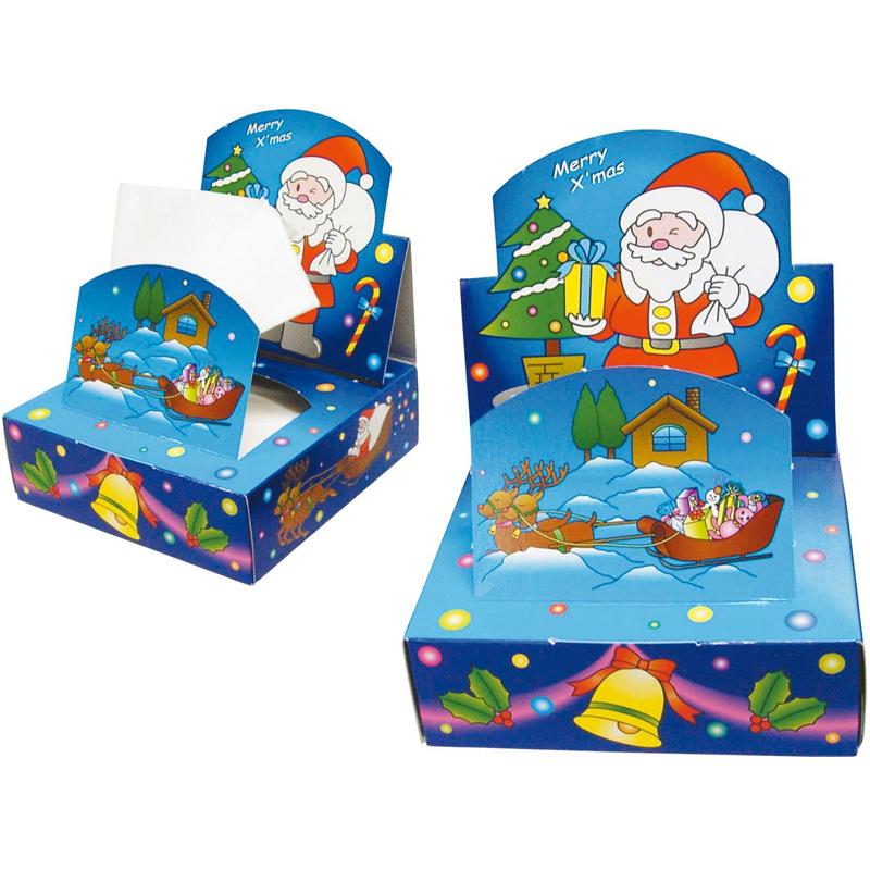 クリスマス 遊遊 ティッシュ キッズ 子供 小学生 イベント プレゼント 景品