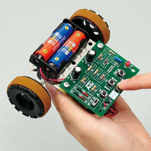 ボタン制御 ロボ 工作 実験 理科 科学 キッズ 小学生 自由研究 夏休み 宿題 知育玩具