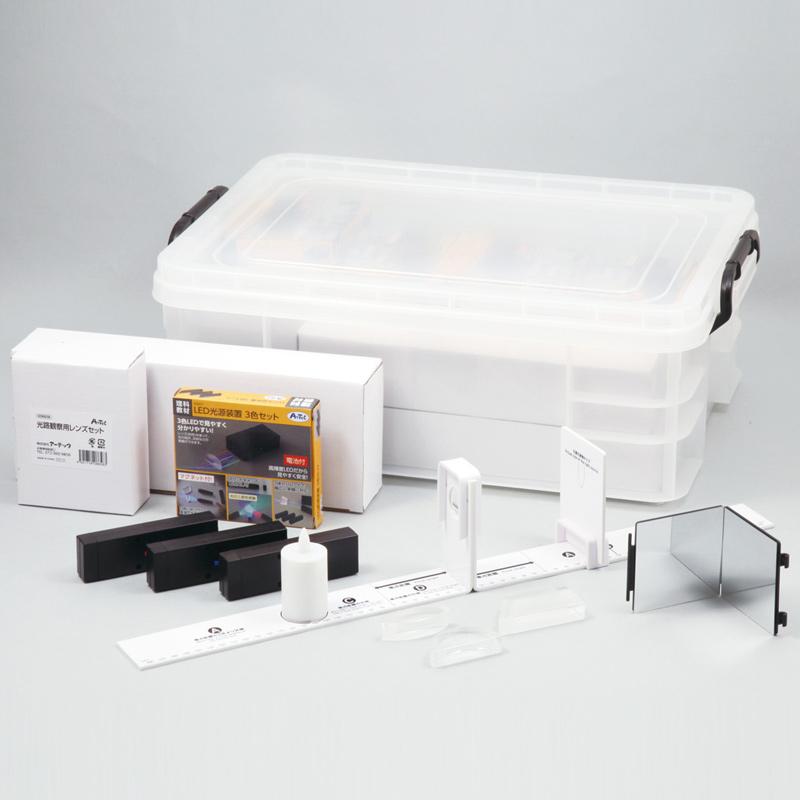 光の実験観察セット 実験 理科 科学 キッズ 小学生 学校 教材 備品 自由研究 知育玩具