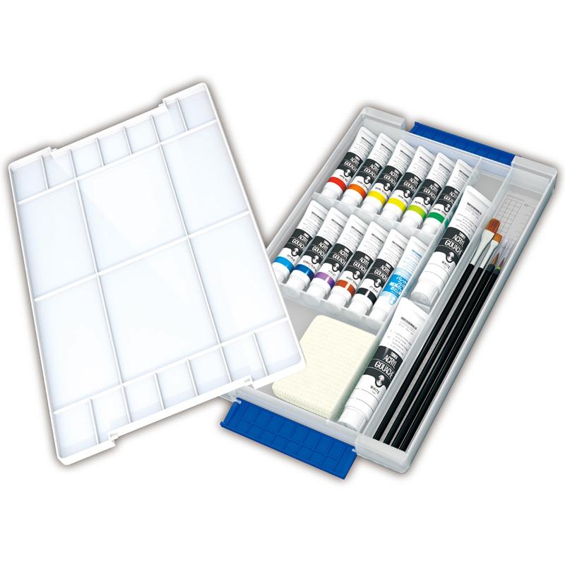 ターナー AG スマートセット [B] 美術 絵具 絵の具セット 画材 中学生 学校 教材 備品 工作 図工 スケッチ