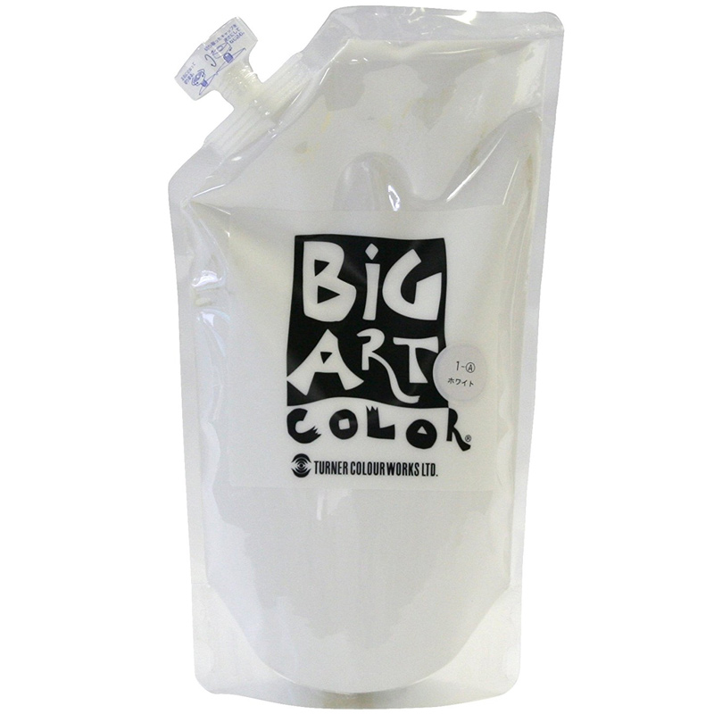 ターナー ビッグアートカラー 700ml ホワイト 美術 絵具 絵の具 画材 中学生 学校 教材 備品 イベント 体育祭 文化祭