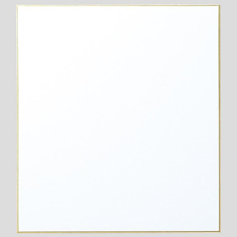 ミニ色紙[寸松庵] 画仙紙 松 ドーサ引 美術 画材 サイン 文具 イベント 学校 教材