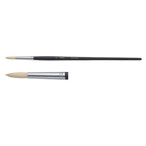 A&B 油筆 ATR-0[KA] ラウンド 美術 図工 画材 絵具 絵筆 文具 学校 教材 小学生 中学生