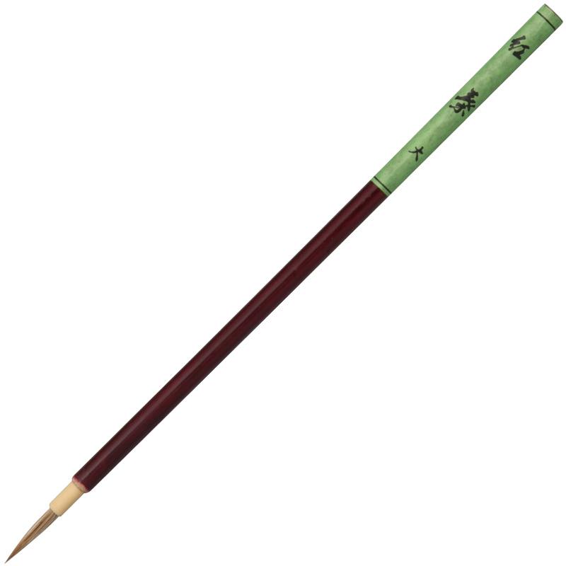 面相筆 紅葉 大 絵筆 筆 絵具 美術 図工 画材 絵 学校 教材 文具 小学生 中学生