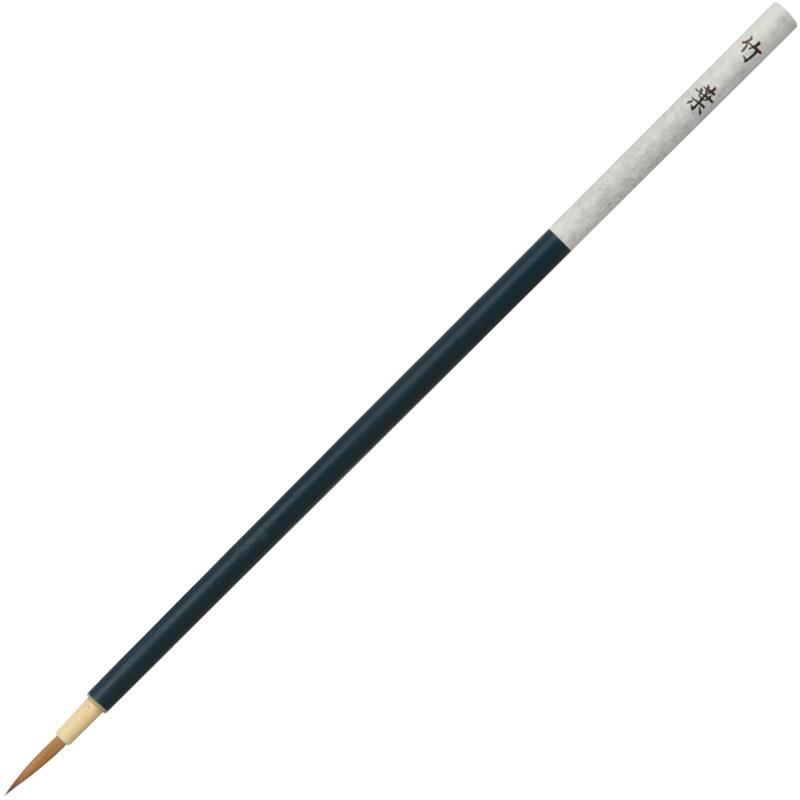 面相筆 竹葉 絵筆 筆 絵具 美術 図工 画材 絵 学校 教材 文具 小学生 中学生