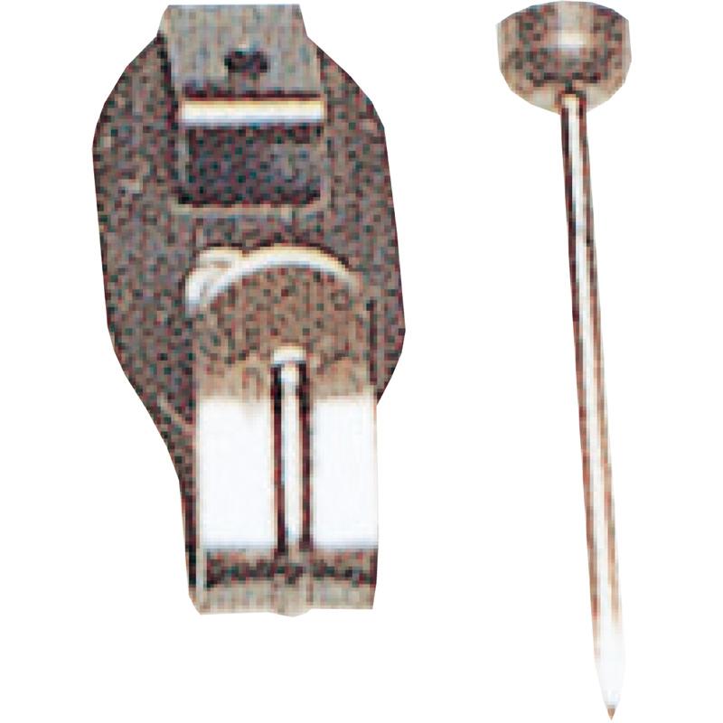 鉄並Xフック 小 1本針 4013 単品 展示用品 フック 美術 図工 画材 絵 学校 教材 文具 作品