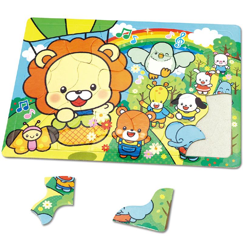 アニマルフレンズ パズル[ピクニック]30P 知育玩具 おもちゃ キッズ 子供 幼稚園 保育園