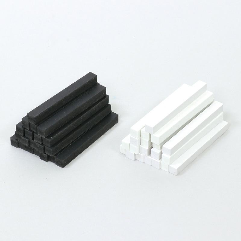 白黒 工芸 10cm 40本セット 工作 図工 手作り 美術 ホビー クラフト 教材