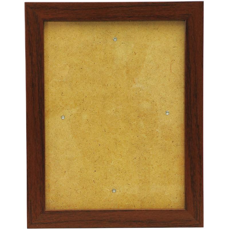 木目調フレーム 100×150mm フレーム 絵 作品 展示 画材 美術 学校教材