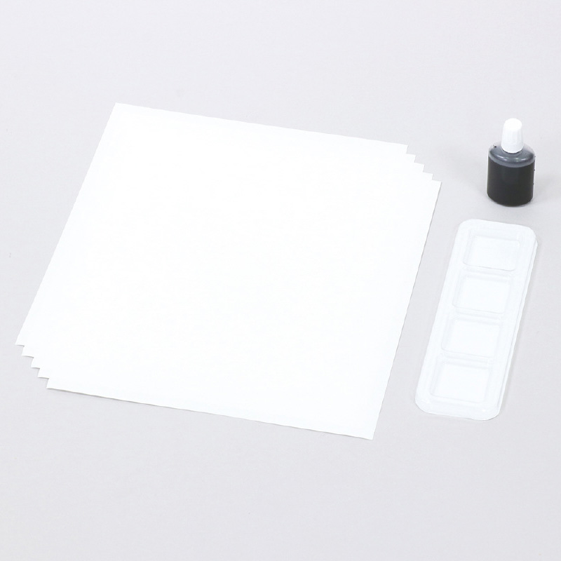 水墨画個人セット 美術 画材 絵 工作 図工 学校 教材 自由研究 夏休み宿題